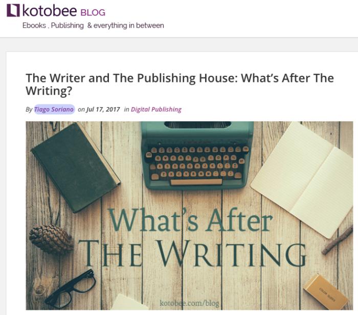 Kotobee Blog - Tiago Soriano